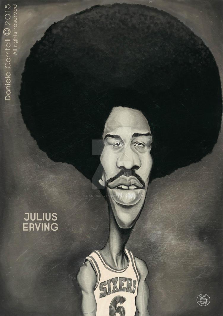 15 Julius Erving caricature by danidark777 on DeviantArt