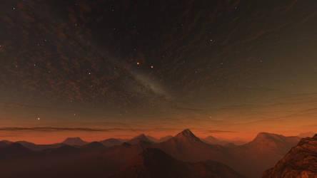 Red dwarf dreams #3 by nirklars