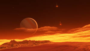 Exomoon of binary red dwarfs #7