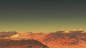 M4V stellar class red dwarf+binary brown dwarfs #5
