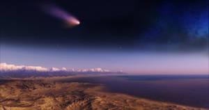 Extrasolar Comet - 4k High res remake
