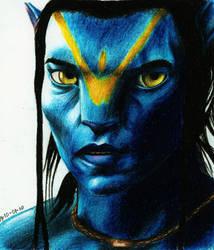 Avatar: Jake Sully by VixSky