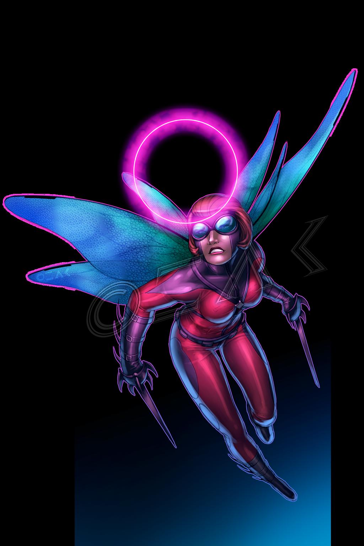 Ladybug - commission by ZedEdge