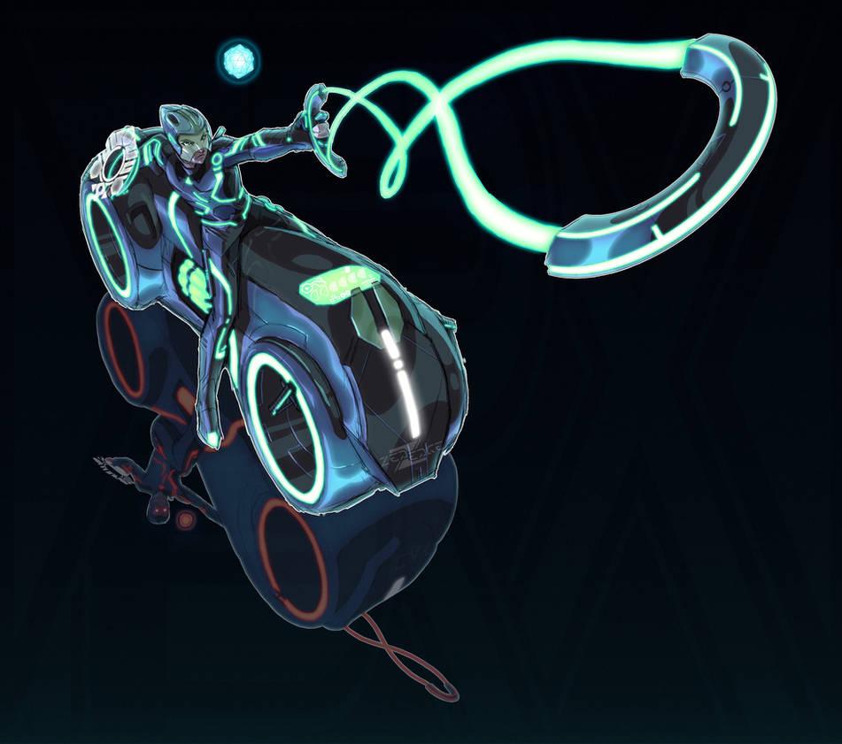 Zelda + Tron (FSRX) by ZedEdge