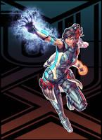 Korra + Mass Effect (FSRX 2) by ZedEdge