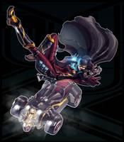 Legend of Korra + Batman (FSRX 14) by ZedEdge