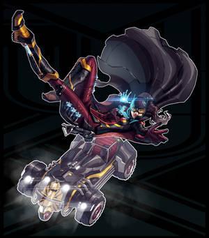 Legend of Korra + Batman (FSRX 14)