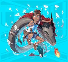 Legend of Korra + Spirited Away (FSRX 18) by ZedEdge