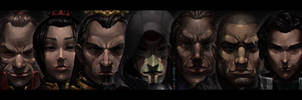 The Nemeses of the Avatar by ZedEdge