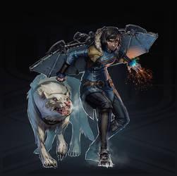 Legend of Korra + Dishonored (FSRX 22) by ZedEdge