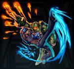 Halo + Street Fighter (FSRX 25)