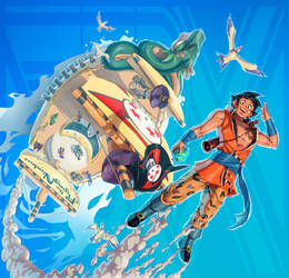 Dragon Ball + One Piece (FSRX 30) by ZedEdge