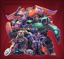Big Hero 6 + Transformers (FSRX 34) by ZedEdge