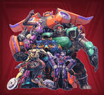 Big Hero 6 + Transformers (FSRX 34)