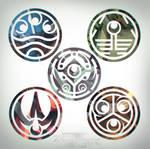 Avastar Wars - Emblems by ZedEdge