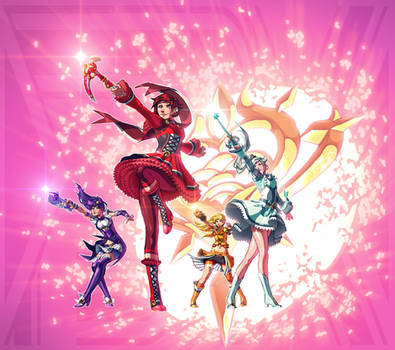 RWBY + Pretty Cure (FSRX 37) by ZedEdge