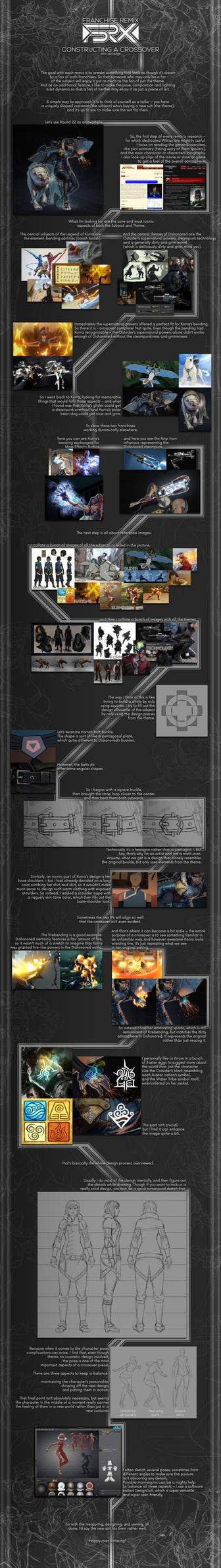 Franchise Remix - Tutorial by ZedEdge