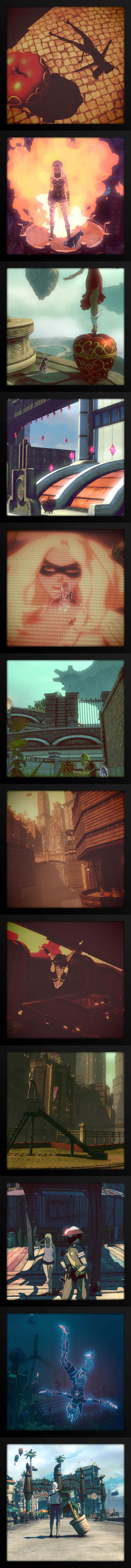 Gravity Rush 2 and the leisurely photographer by ZedEdge