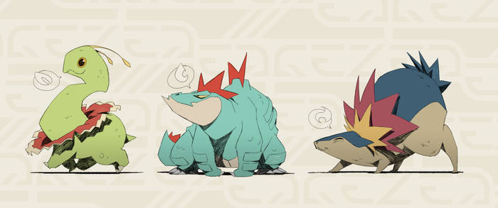 Little Johto Monsters