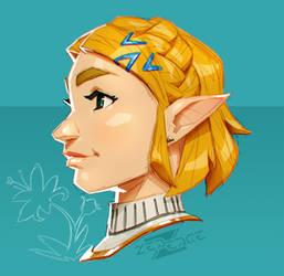 Zelda - my favorite game girls (1) by ZedEdge