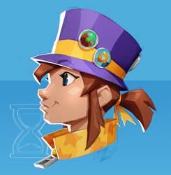 Hat Kid - my favorite game girls (17) by ZedEdge