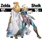 Smash Ultimate Sheik redesign