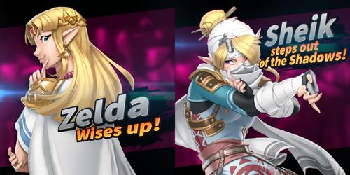 Ultimate Zelda and Ultimate Sheik