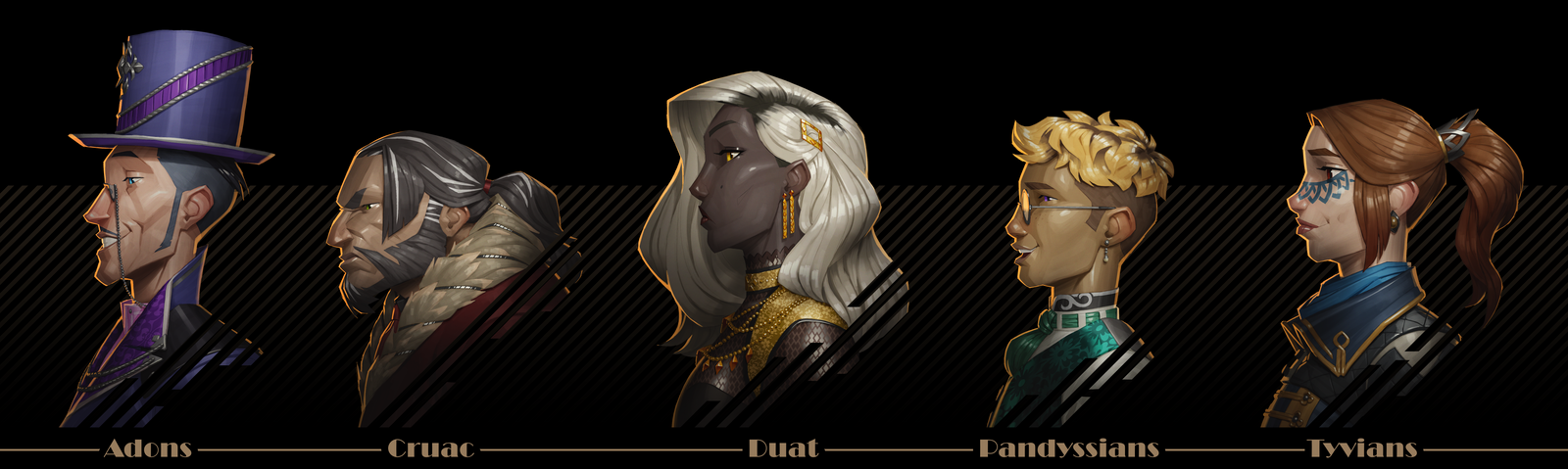 Dystopia Races (commission)