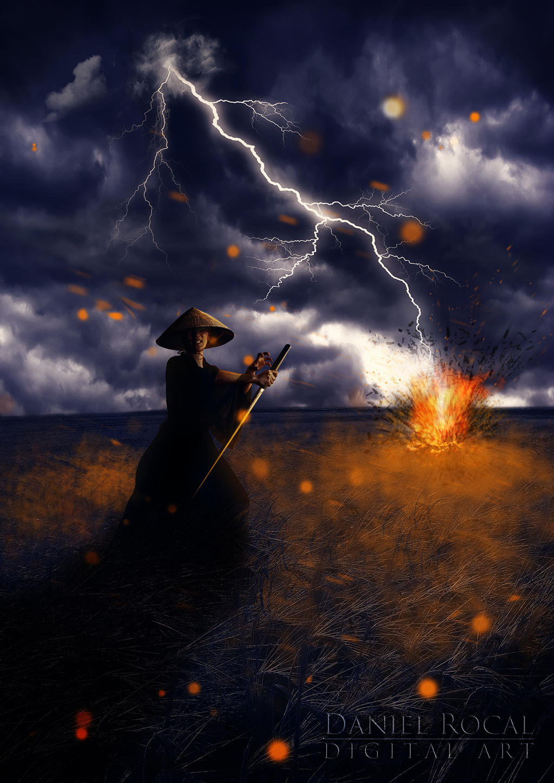 Zatoichi by Daniel-Rocal