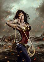Wonder Woman by Daniel-Rocal