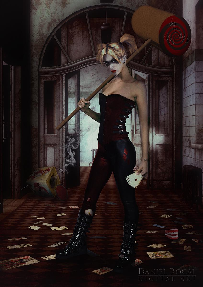 Harley Quinn by Daniel-Rocal