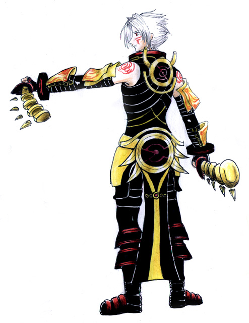 Haseo 2nd form - Hack Gu by S0rce on DeviantArt