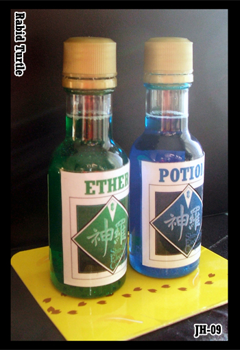 FF7 Potion and Ether by Rabid-Turtle