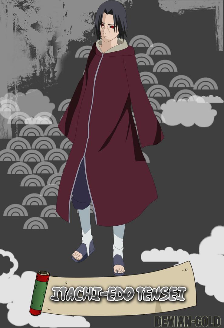 Itachi Edo Tensei by Devien-Cold