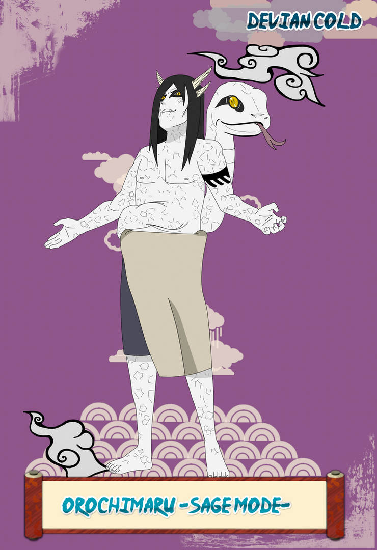 Orochimaru -sage mode- by Devien-Cold on DeviantArt