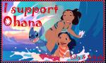 I support Ohana by Zulema