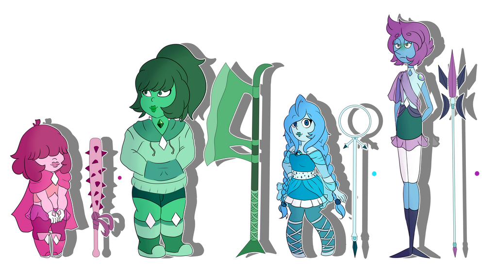 SU- gem oc references by Cristal-Tears