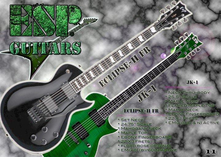 Esp Guitars Add By Skrillexdub On Deviantart