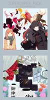 Superduper pack by niu-gl0