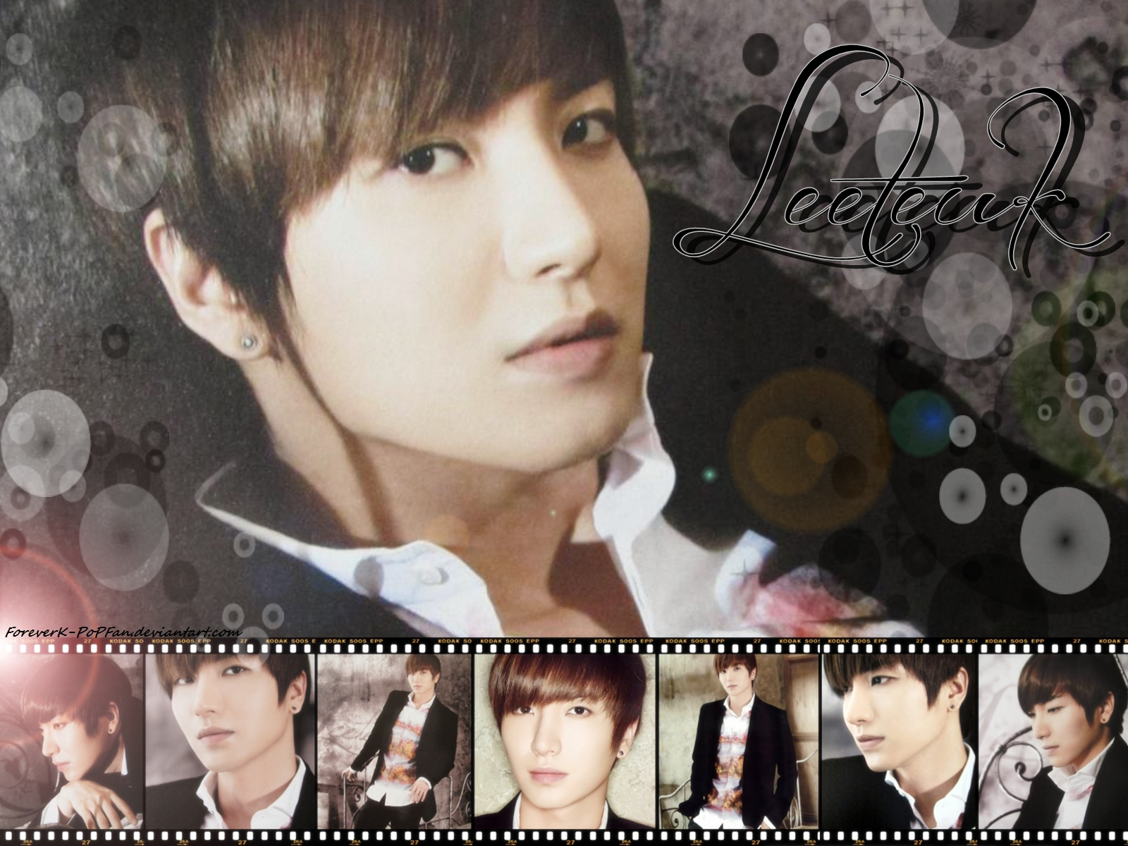 Super Junior 2012 calendar Leeteuk by ForeverKPoPFan on DeviantArt