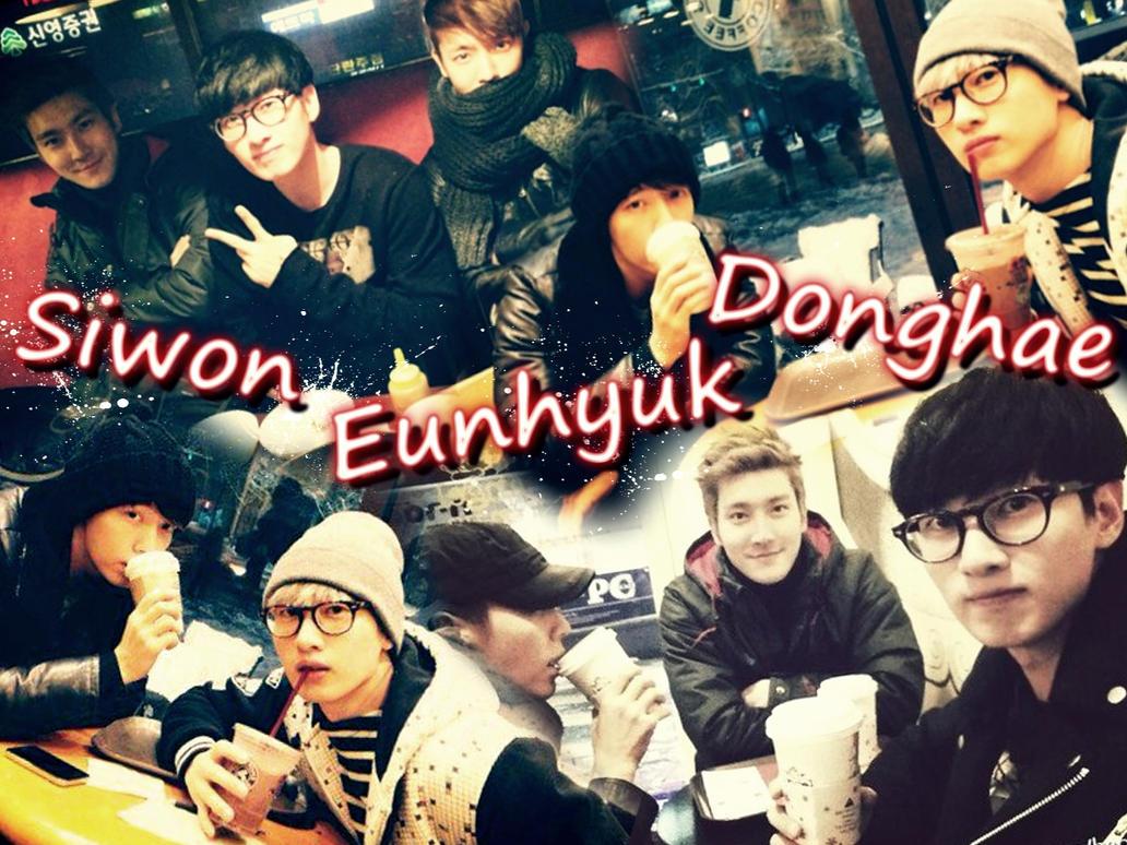 Siwon , Eunhyuk and Donghae Wallpaper by ForeverK-PoPFan