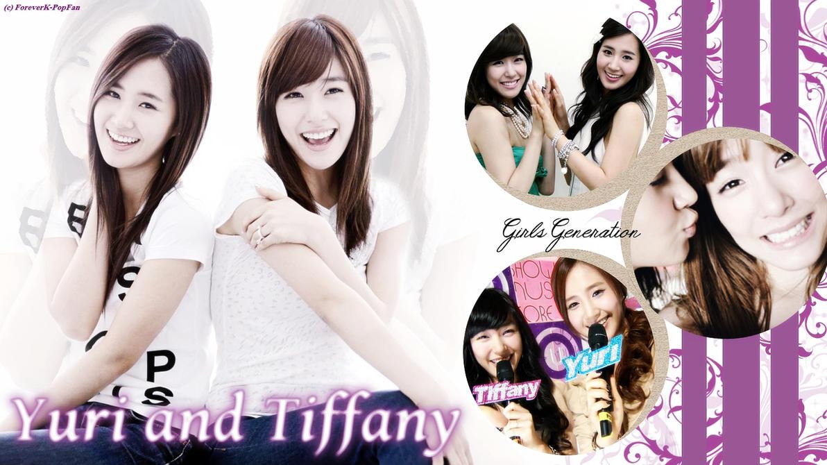 Yuri and Tiffany Wallpaper by ForeverK-PoPFan