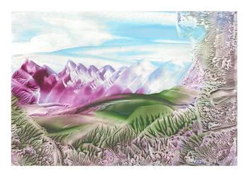 Welsh Mountains by zrosemarie