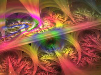 Behind The Rainbow by zrosemarie