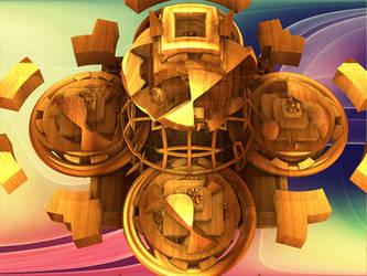 Wooden Tops by zrosemarie