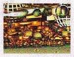 Fish Tank by zrosemarie