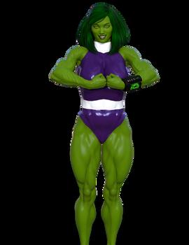 Alice Sadler - She Hulk (level 1)