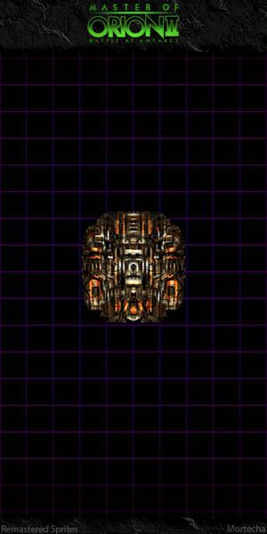 Master Of Orion II: Orange Doomstar