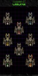 Master Of Orion II: Avenger Variants by Mortecha