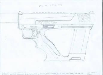 Deus Ex - Steal Pistol Redesign Schematic V2.1 by Mortecha